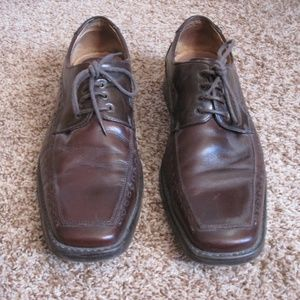 "Steve Madden ""P-Mantra"" Men's Brown Leather Shoes"